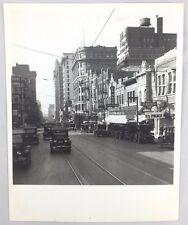 1926 Photo (1970s Kodak Print) Dallas Texas Street Scene