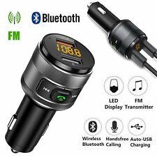 KFZ Bluetooth FM Transmitter Car MP3 Player Auto USB Charger Freisprechanlage DE