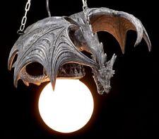 Lampe Dragon - Dragon En Vol - Lampe Plafonnier Figure Gothique Fantasie