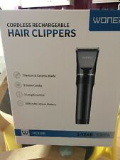 Woner cordless hair clippers