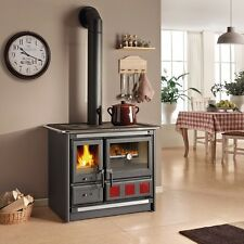 "Wood Burning Cook Stove La Nordica ""Rosa XXL"" Cooking Range & Baking Oven"