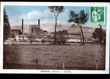 PREMERY (58) BOVINS en PATURAGE & USINE de PRODUITS CHIMIQUE vers 1930