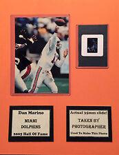 Dan Marino Dolphins Photo Negative Matte 11x14 Photographers Negative Included B