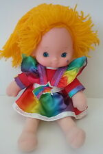 Rainbow Brite Doll Tagged 1983 Hallmark Excellent Clean Condition Clean Rare 10""
