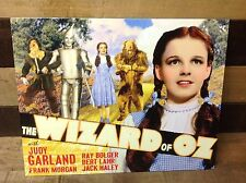 WIZARD OF OZ Yellow Brick Road Sign Tin Vintage Garage Bar Decor Old Rustic