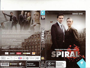 Spiral-2005-TV Series France-[Series One-2 Disc]-DVD