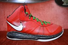 MEN'S NIKE LEBRON 8 VIII V2 CHRISTMAS SOLDIER SHOES 429676-600 SIZE 11 US
