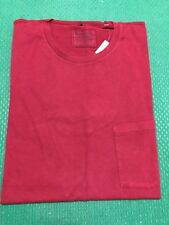NWT Abercrombie & Fitch Men's Slim Muscle Fit Tee Round-Neck Pocket T-Shirt  L