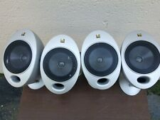 4 KEF Satellite Egg Speakers Audiophile Hifi HTS2001 100 Watts