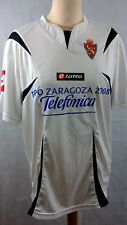 REAL SARAGOSSE Espagne Home Football Shirt 2006-2007 #8 AIMAR Taille Extra Large