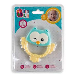 Giocattolo creativo per bambini neonato BamBam gufo sonaglio 2865