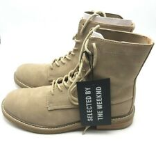 THE WEEKND BOOTS BEIGE SIZE 7.5