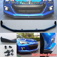 STi tS Style Front Bumper Lip (Urethane) Fits 12-16 Subaru BRZ