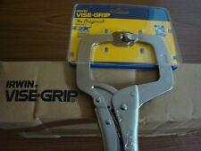 """Irwin Vise-Grip 11R 11"""" Original Locking C-Clamp-5 pc. Lot"""