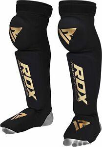 RDX Paratibia Piede Ginocchio Pads Supporto Paratibie MMA Muay Thai Kickboxing I