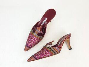 Manolo Blahnik Women's Silk Shoes for