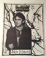 BANG! Issue #13 1986 Robyn Hitchcock THE DAMNED Executive Slacks SCRAPING FOETUS