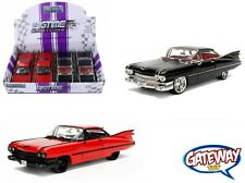 1/24 JADA Display N/B BigTime Kustoms 1959 Cadillac Coupe DeVille Car 99991-DP1