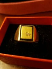 Gold Diamond Sterling Silver Fine Rings