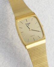 Pulsar Men's Classic Watch Gold Tone Case Retro Self Adjusting Band