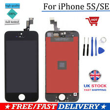 For iPhone SE 5S LCD Touch Screen Display Digitizer Assembly Replacement Black
