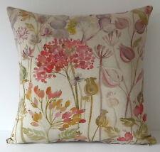 """Voyage hedgerow automne fleurs graines 16"""" housse de coussin"""