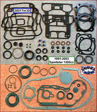 91-2003 Harley 1200 Sporty MLS /& Foamet Engine Rebuild Gasket Kit r.17026-91A