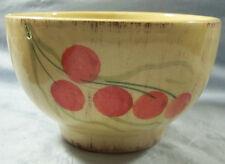 """Ceramiche Alfa Ceramic Hand Painted Cherry Bowl 5 1/4"""" Italy"""