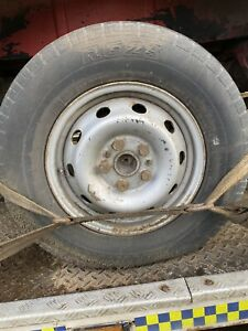 IVECO DAILY SINGLE WHEEL AND TYRE 5 STUD 225 70 15 1999 - 2006