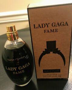 Lady Gaga Fame EDP spray 3.4 fl.oz Black Fluid for women New Tester Bottle + Box