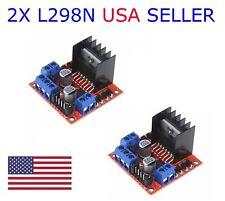 2X L298N Dual H Bridge DC Stepper Motor Driver Controller Board Arduino