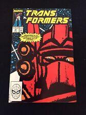Marvel Comics The Transformers #58 NM Unread Condition Nov 1989 (box24)
