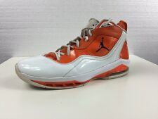 JORDAN MELO M8 Orange/ White Shoes # 469786-127 Mens US SIZE 11