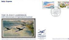 D-Day Landings Anniversary cover, Caen pk