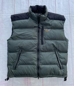 Mountain Hardwear Goose Down Vest Jacket Puffer Vintage Ski Winter Large