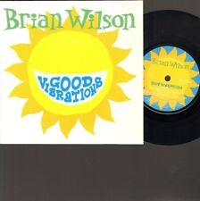 "BRIAN WILSON Good Vibrations SINGLE 7"" Inch 3 track LIVE in LONDON Our Prayer"