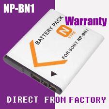 Decoded Battery NP-BN1 NPBN1 Sony Cyber-Shot DSC-WX150 DSC-WX100 DSC-TF1