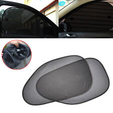 2X Auto Side Rear Window Sun Visor Shade Mesh Cover Shield Sunshade UV Protector