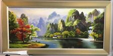 Oil painting wholesaler/quality art exporter Traditional Chinese painting