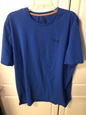 Under Armour Charged Cotton Loose Fit Blue Shirt Men's Size 2XL