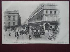 POSTCARD FRANCE PARIS - LA RUE DE RIVOLI
