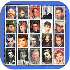 1995 - 2016  LEGENDS OF HOLLYWOOD Series TRUE  Complete Set of 20  MINT Stamps