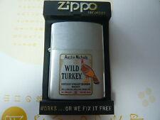 WILD TURKEY zippo 1987