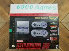 Nintendo Snes Super Classic Mini 6000 Games Console Free Usps Shipping In Stock