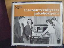 The Rock'n' Roll years Juxebox Gems [ 3 cd set READERS DIGEST FAT CASE] - VG