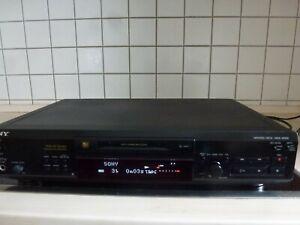 SONY MDS JE 520 Mini Disc Recorder Player MD Player  vintage Mini Disk Spieler