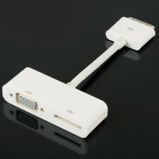 30pin Digital AV Adapter To VGA Fit For iPhone 4 4S iPod iPad 2 3