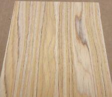 "Olivewood composite # 1955 wood veneer 6"" x 7.5"" with thin fleece backing sample"