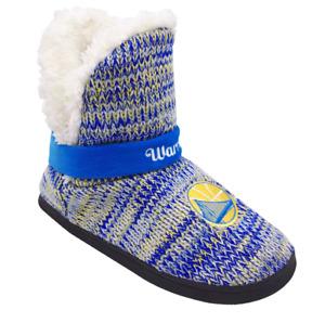 Golden State Warriors Women's Wordmark Peak Boots Slippers
