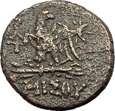 AMISOS in PONTUS - Mithradates VI the Great Ancient Greek Coin ZEUS EAGLE i62839